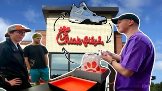 Traded Chick-fil-A For Shoes...