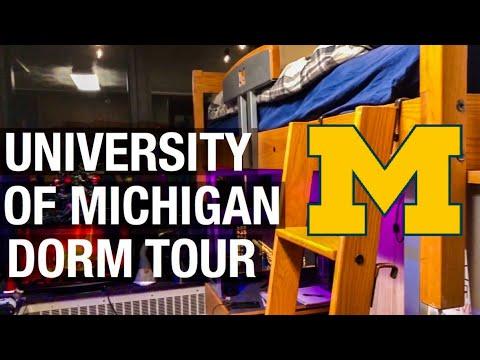 University Of Michigan Dorm Tour
