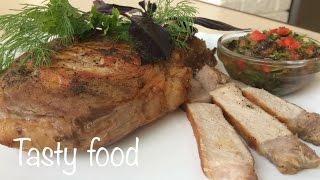 Как Вкусно Пожарить Стейк (Мясо) + Соус по-домашнему