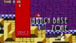 "Sonic 3k PC ""Launch Base act 2"" Music ""General MIDI"""