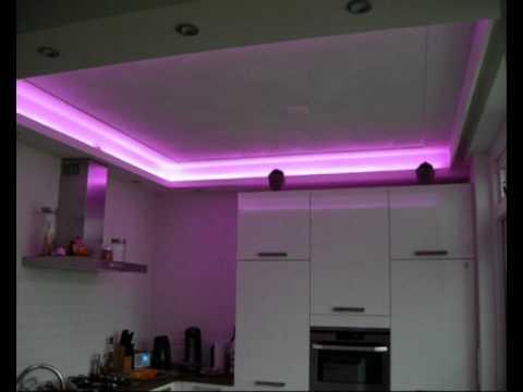 led verlichting keuken youtube. Black Bedroom Furniture Sets. Home Design Ideas