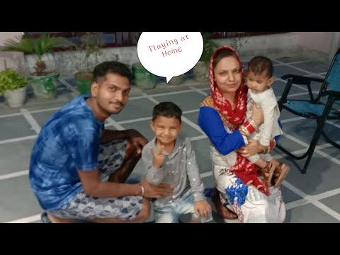 Pakdam Pakdai playing with Kids at Home