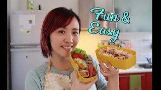 Let's make the bento !! Japanese style lunch box!