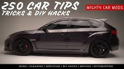 250 CAR TIPS, Tricks & DIY Hacks EVERYONE NEEDS TO KNOW
