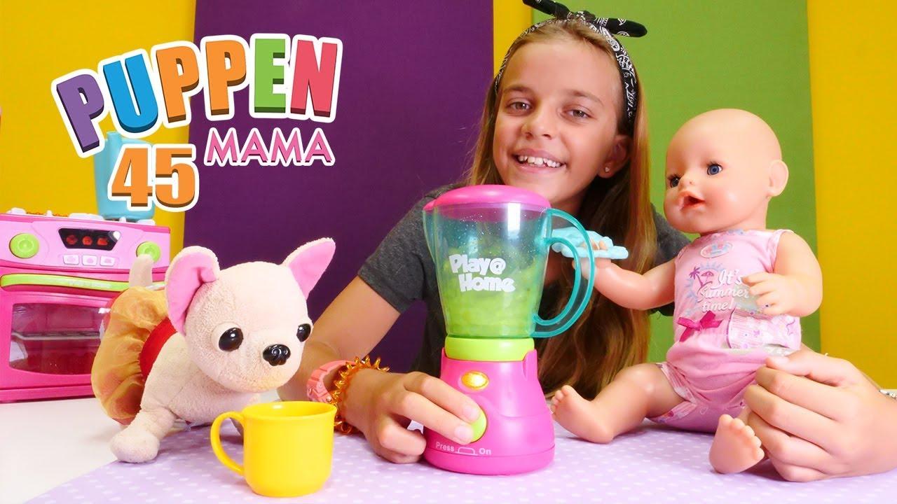 Download Puppen Mama - Lolli hat Husten.  Spielzeugvideo für Kinder