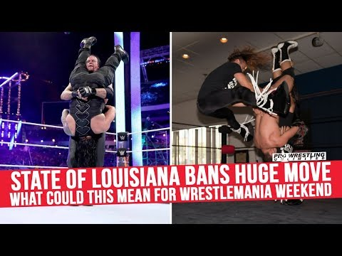 State Of Louisiana Bans Huge Move, What Could This Mean For WrestleMania Weekend