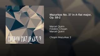 Mazurkas No. 37 in A-flat major, Op. 59-2