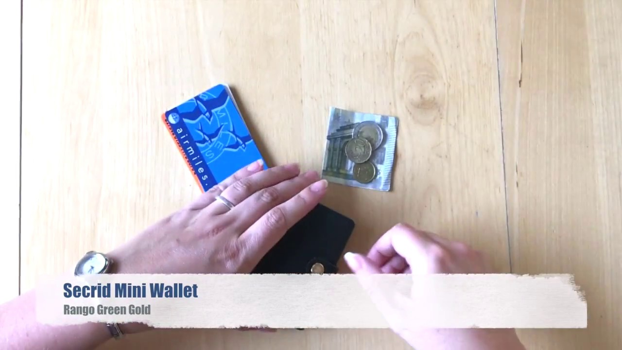 Secrid Mini Wallet de ideale portemonnee! • You Nailed It