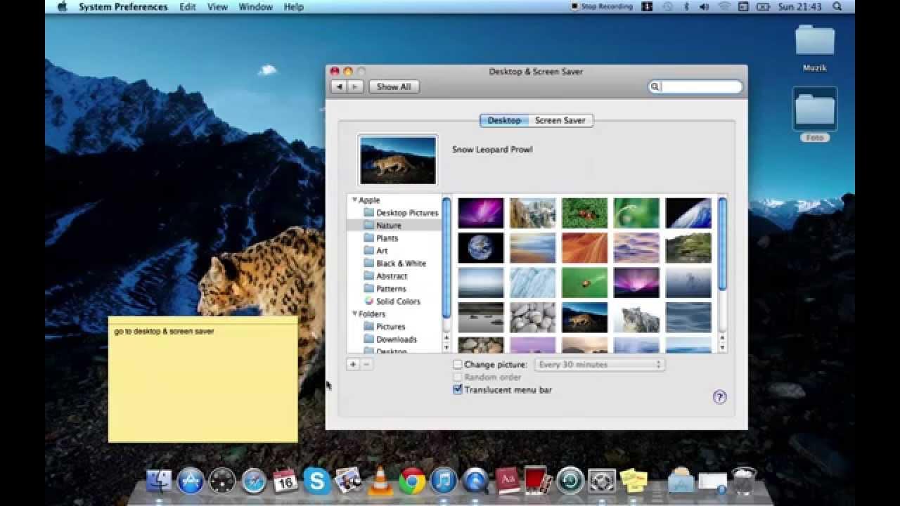 how to change your wallpaper desktop in mac youtube