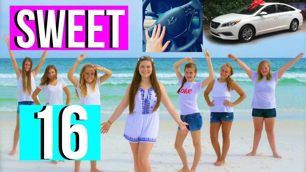 SWEET 16! || SUMMER PARTY /Diys, Activities, and Outfits/ - YouTube