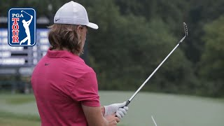Tommy Fleetwood's pre-round warm-up routine