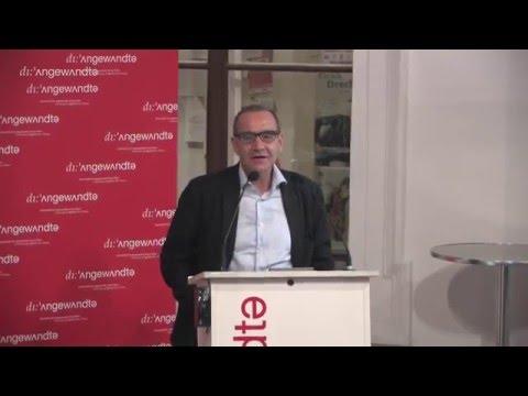 Die Welt im Spiel - Ernst Strouhal - Buchpräsentation