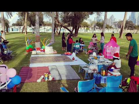 Safa Park Dubai Christmas Party 2018