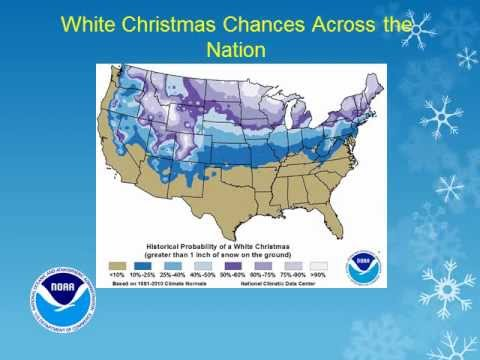 chances of a white christmas