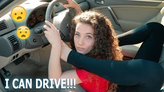 I CAN DRIVE LIKE THIS!!! (got my license)