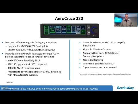 BendixKing Overview: AeroCruze 230