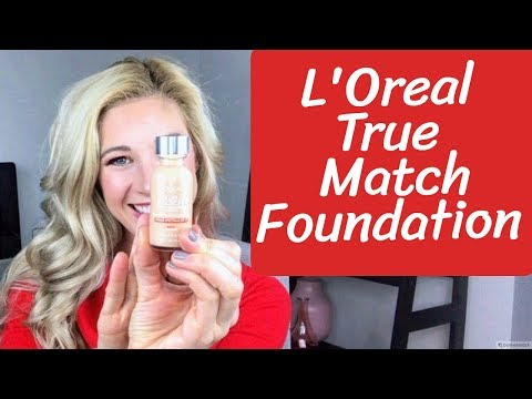 L'Oreal True Match Foundation | Drugstore Foundation Series First Impressions, Review and Wear Test thumbnail