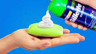 25 UNUSUAL WAYS TO USE SOAP    SOAP HACKS AND DIYs