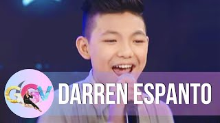 Darren Espanto sings 'Forever's Not Enough' on GGV