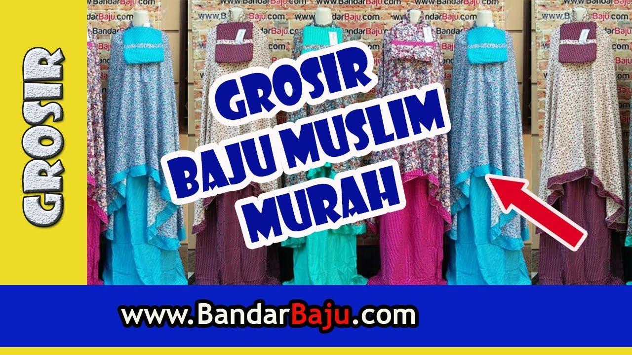 Tempat Belanja Grosir Baju Muslim Murah di Bandung  650d5c5587