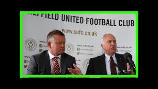 Breaking News | Chris Wilder's frustration as boardroom battle blunts Sheffield United