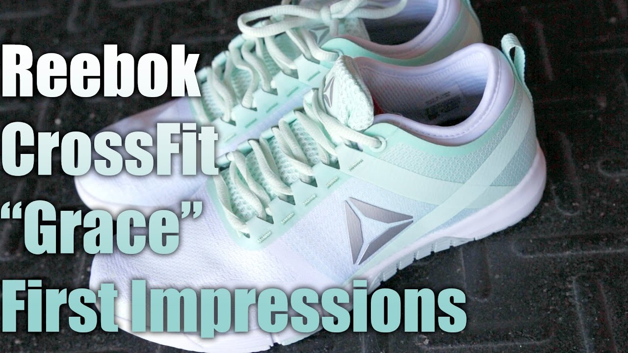 aba544ad96a3 Reebok CrossFit Grace Shoes First Impressions! - YouTube
