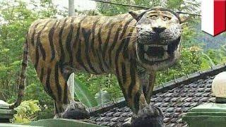 Macan Koramil di Cisewu Jawa Barat sudah dihancurkan - TomoNews