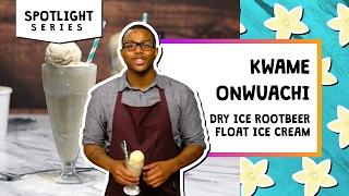 Dry Ice Root Beer Float l Spotlight-Kwame Onwuachi