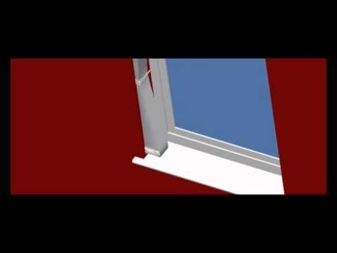 vertical blind tie back fitting instructions louvretie u. Black Bedroom Furniture Sets. Home Design Ideas