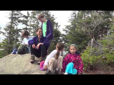 Hiking Pitchoff, Near Lake Placid NY, in the Adirondacks