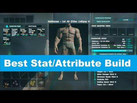 Ark: Survival Evolved - Best Stat/Attribute Build