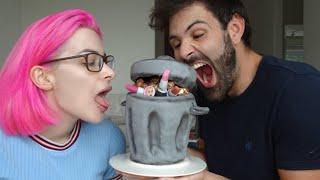 BFF & Ich backen eine MÜLL-Torte! *Wortwörtlich!*