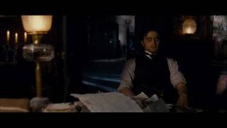 The Woman In Black - Asleep At The Desk - First Clip