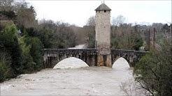 Inondations (Commune d'Orthez) 2019