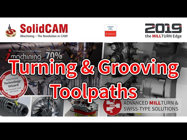 Turning & Grooving Toolpaths