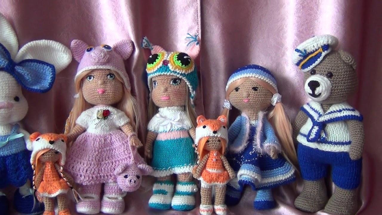 Вязание игрушек. Интернет-магазин игрушек на заказ - YouTube - photo#18