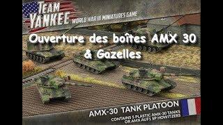 Team Yankee - Ouverture de boîtes AMX 30 & Gazelles