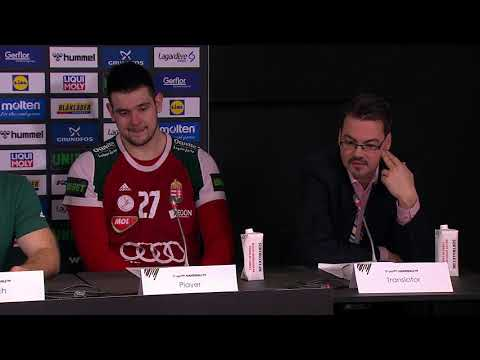 47 HUNGARY vs EGYPT   Press Conference