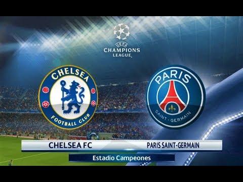 Chelsea vs PSG | UEFA Champions League 2018 | PES 2018 Gameplay HD