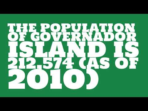 What is the population of Governador Island?