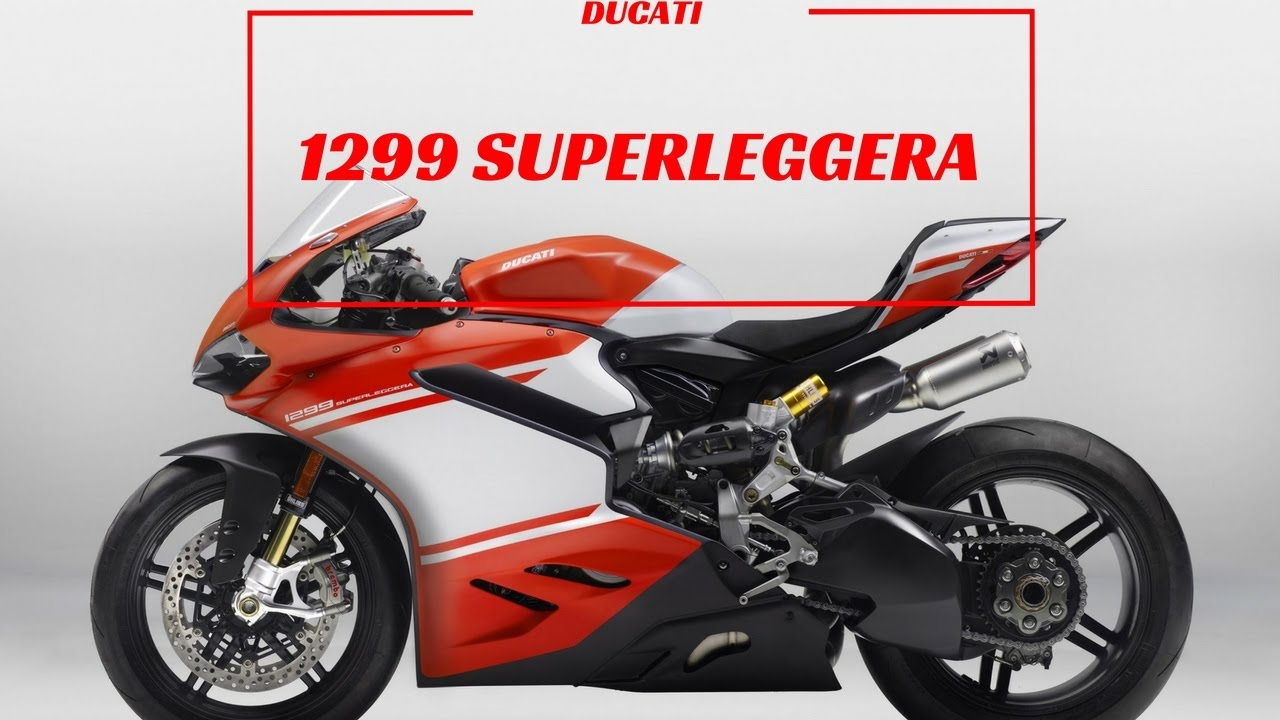 2017 ducati 1299 superleggera - ducati's carbon fiber beast - youtube