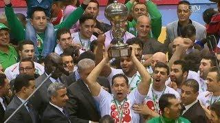 تتويج منتخب الجزائر ببطولة افريقيا للرجال لكرة اليد على حساب تونس
