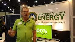 DEPARTMENT OF GREEN ENERGY @ PALM BEACH HOME & REMODEL SHOW