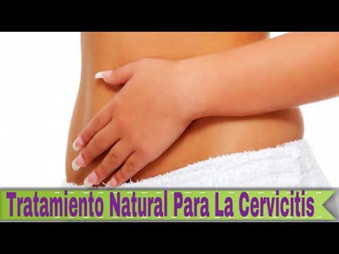 Cervicitis cronica moderada tratamiento natural