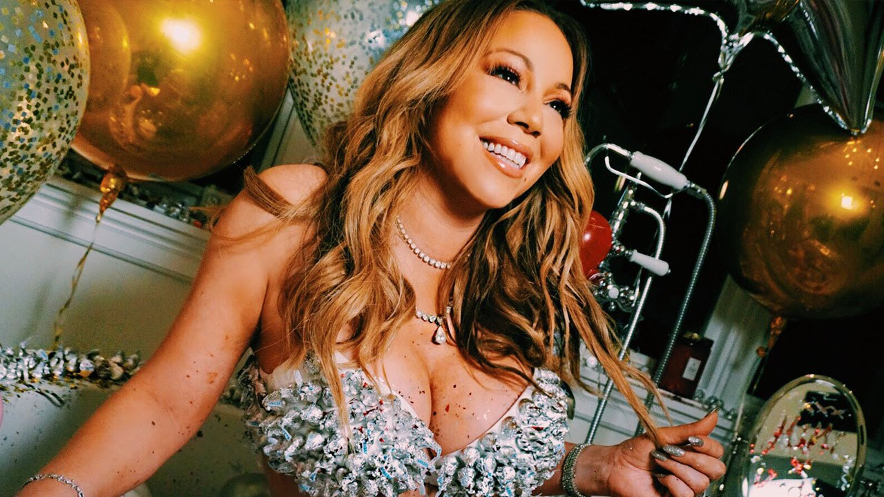 Mariah Carey Seductively Poses in Candy Bra in Pics Shot By Manager's 13-Year-Old Daughter