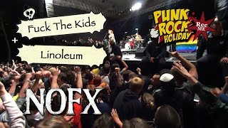 "#090 NOFX ""Fuck The Kids"" + ""Linoleum"" @ Punk Rock Holiday (10/08/2016) Tolmin, Slovenia"
