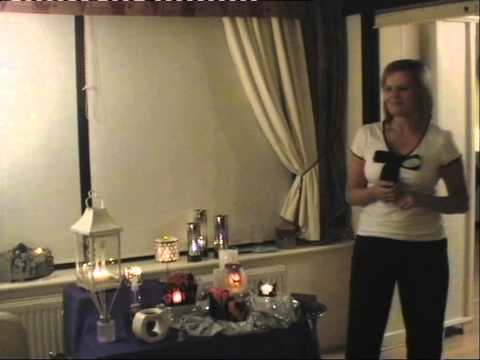 Example of a PartyLite UK candle Party September 2013