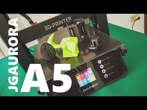 Recensione stampante 3D JGAURORA A5