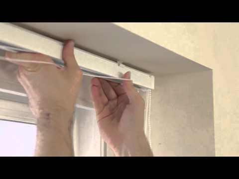 How to Fit a Vertical Blind | Vertical Blinds Direct