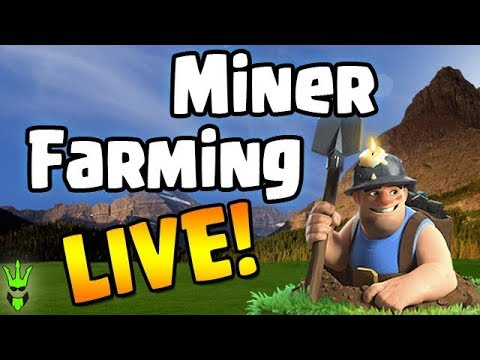 Miner Farming LIVE | New TH11 Gameplay | Clash of Clans | Farming